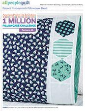 Apq 1 Million Pillowcase Challenge Free Patterns Pillowcase Pattern Sewing Projects Pattern