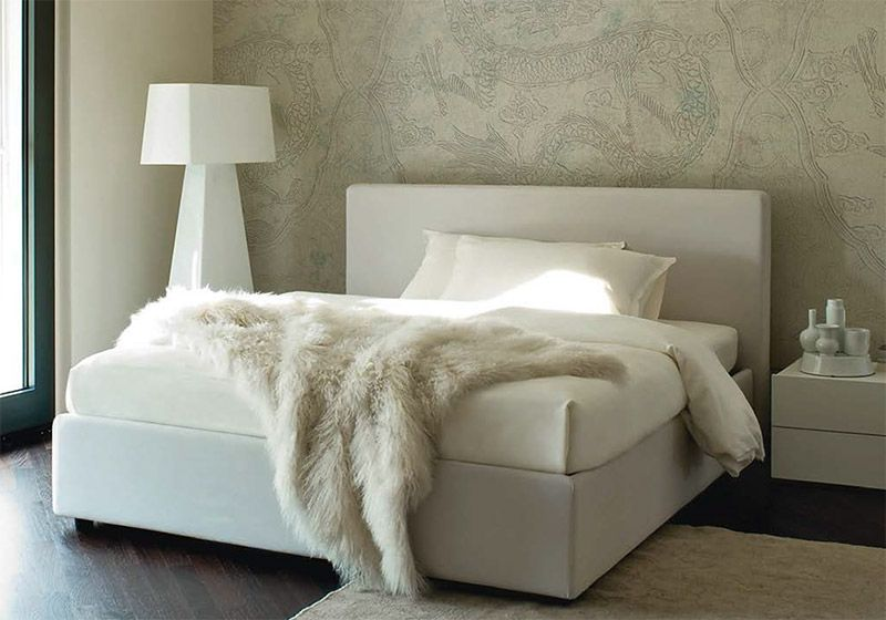 Letto matrimoniale joy Furniture, Blanket, Bed