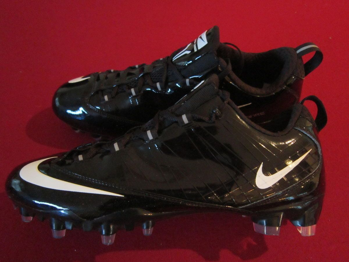 af4745dac21 Loading zoom  New Nike Zoom Vapor Carbon Fly TD Football Cleats Black 130  ...