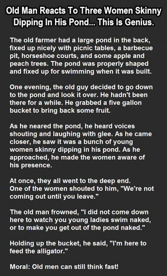 Dirty old man sex story