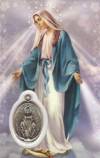 Oracion A La Virgen De La Medalla Milagrosa Blessed Mother Mary Blessed Mother Mother Mary