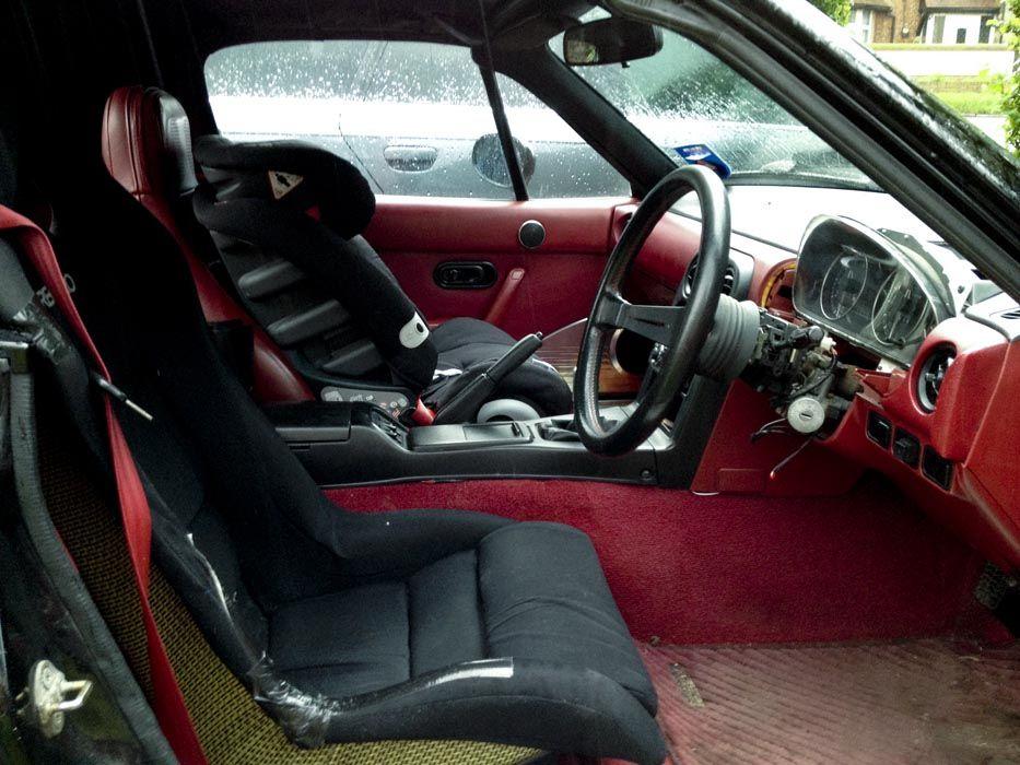 rhd na mazda miata with red interior mazda miata roadsters pinterest mazda miata red. Black Bedroom Furniture Sets. Home Design Ideas
