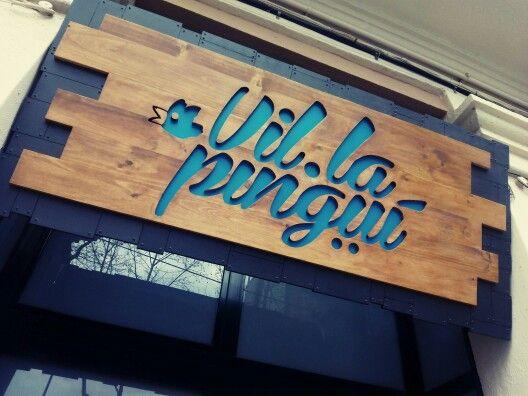 Rótulo comercial de madera Decopelu Pinterest Letreros - fachada madera