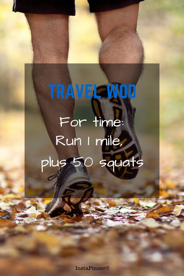 Crossfit WOD Travel - Never miss a workout while traveling! Do this travel wod! ♥ If you like the value of my pin, click ★LIKE, ★FOLLOW and ★REPIN to your own #Crossfit #WOD board. ❤ #travel