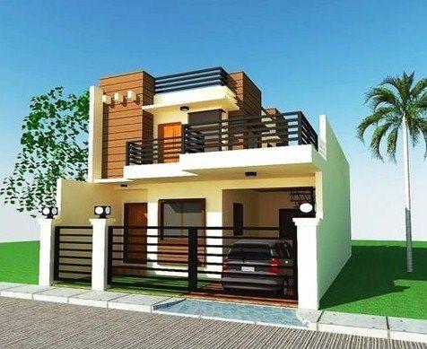 gambar desain rumah minimalis 2 lantai | rumah minimalis