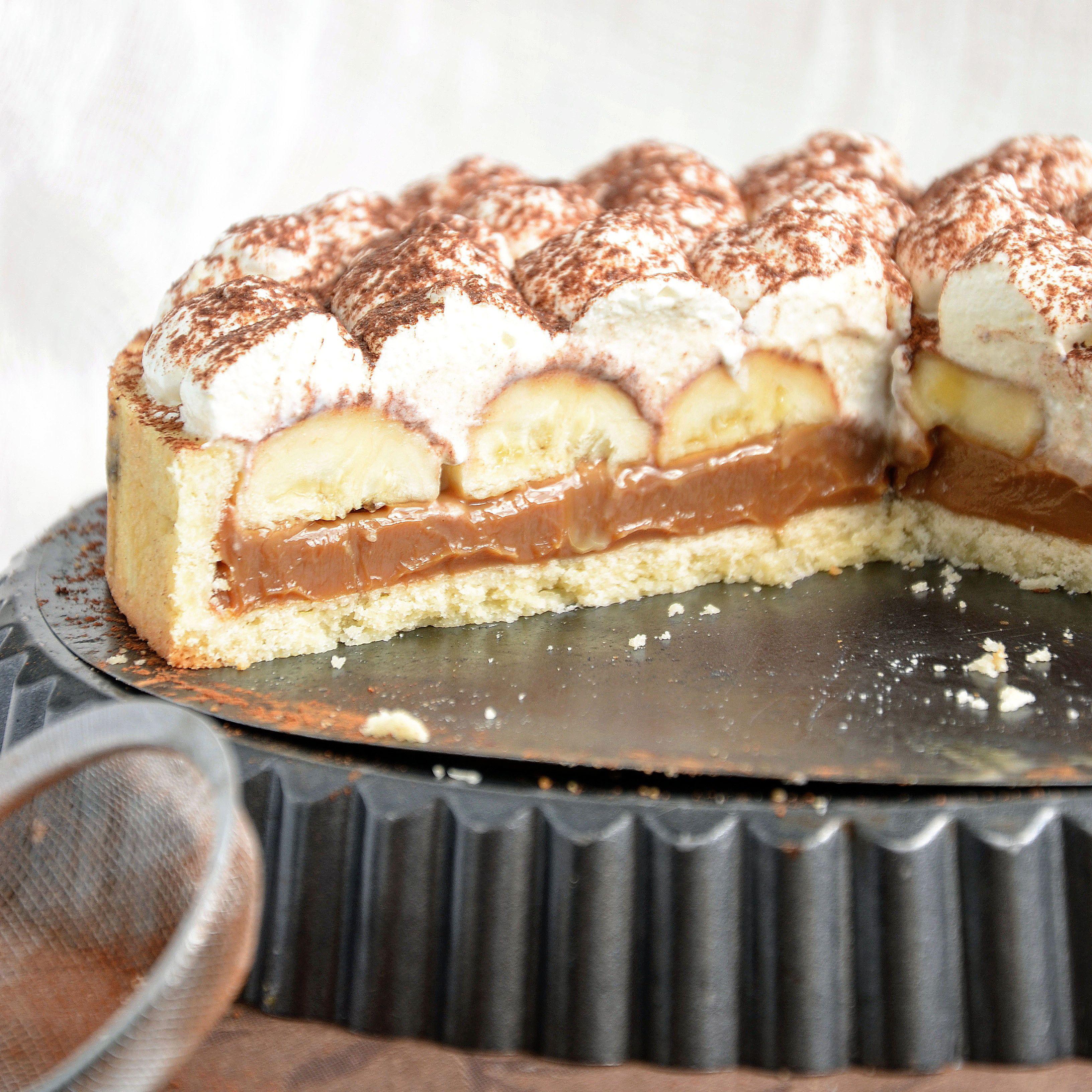 торт баноффи рецепт с фото