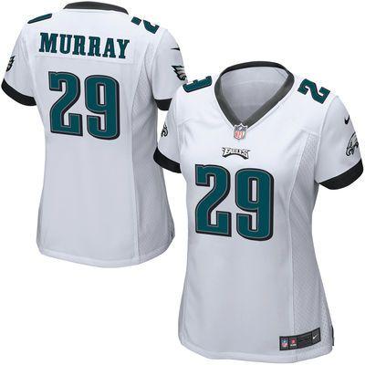 super popular ba48b aad4b Women's Philadelphia Eagles DeMarco Murray Nike White Game ...