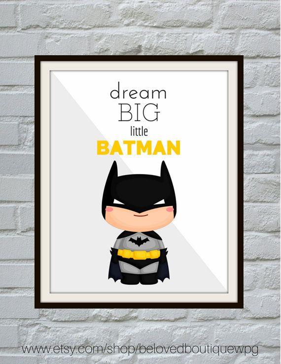 Batman Print Batman Printable Batman Art Nursery Decor Etsy Baby Boy Room Nursery Nursery Room Boy Superhero Wall Art
