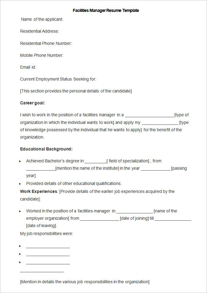 Exceptional Manufacturing Resume Templates | 13+ Free Printable Word U0026 PDF