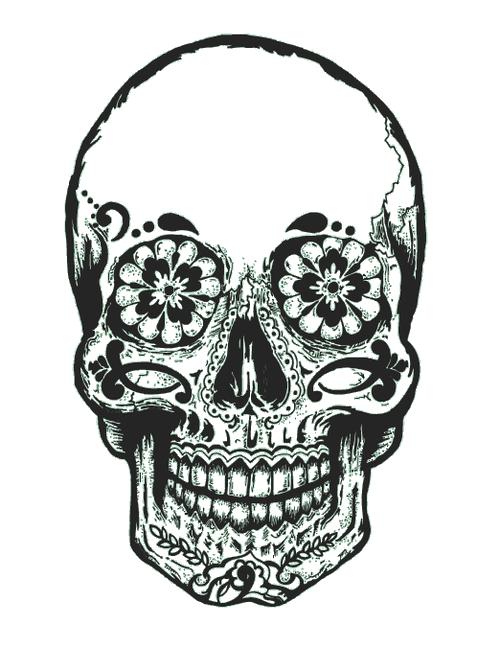 Gallery For Tumblr Transparent Skull Grunge Tattoo Art Skull