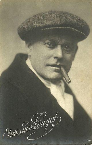 Armand Pouget. Italian postcard by Fotocelere, Turin, no. 191.