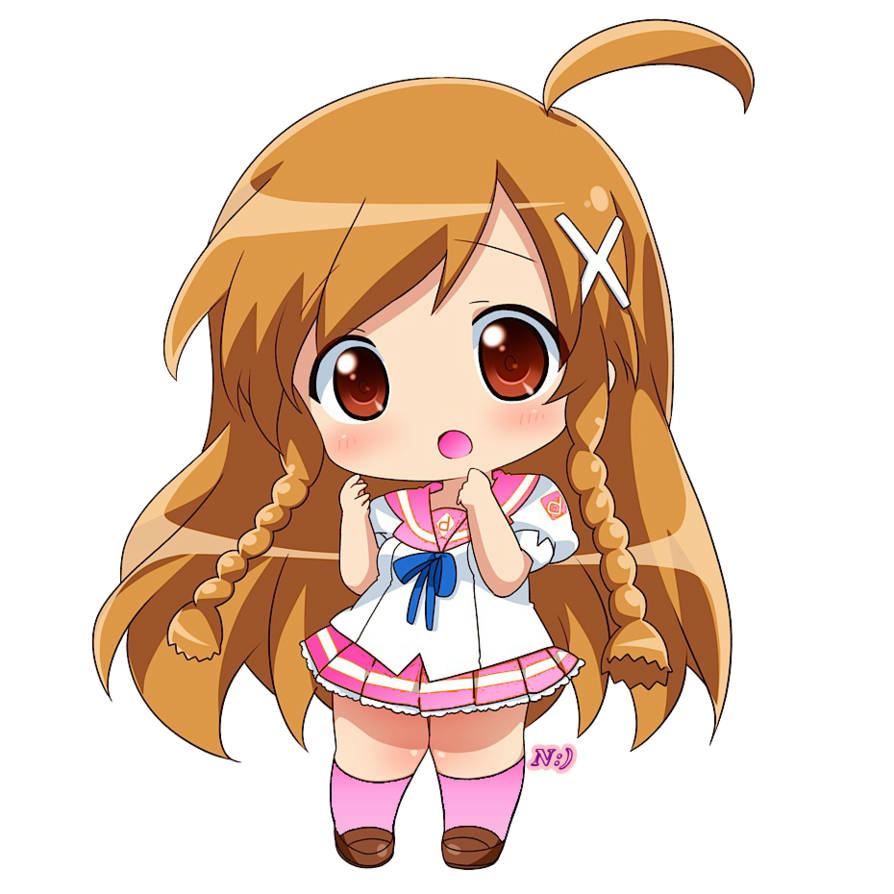 Chibi Png by NoreenMoreno on DeviantArt Manga anime, Cô