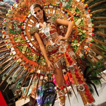 Backstage Photos of Miss Universe 2012 National Costumes Competition