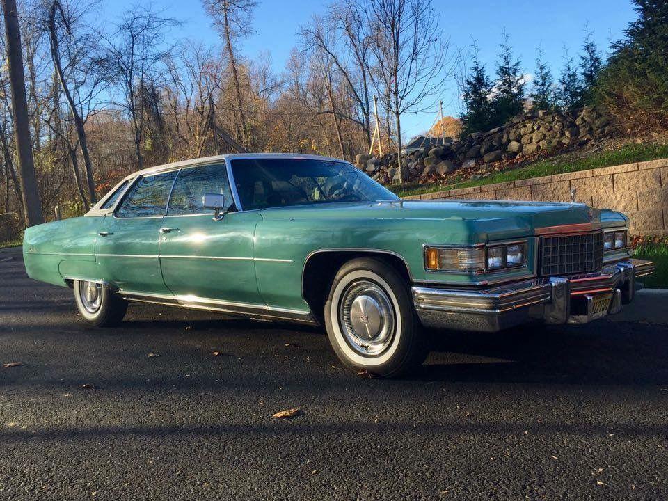 1976 Cadillac Sedan Deville Dunbarton Green Color Code 32 1976