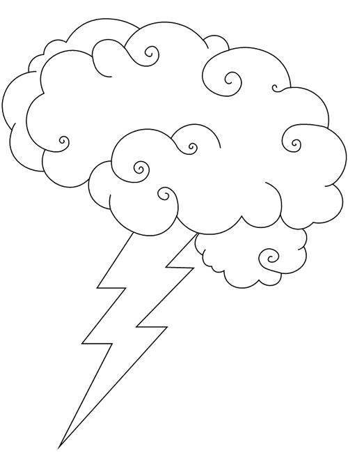 Brainstorm Coloring Page Printable Coloring Pages Coloring Pages Free Printable Coloring Pages