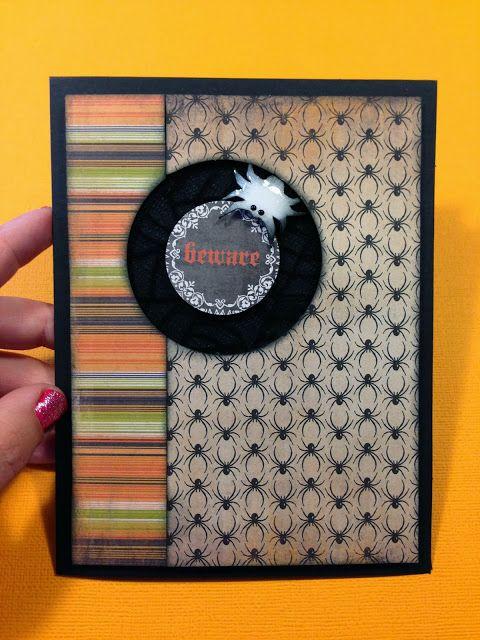 Halloween Card Scrapbooking ideas Pinterest Homemade cards