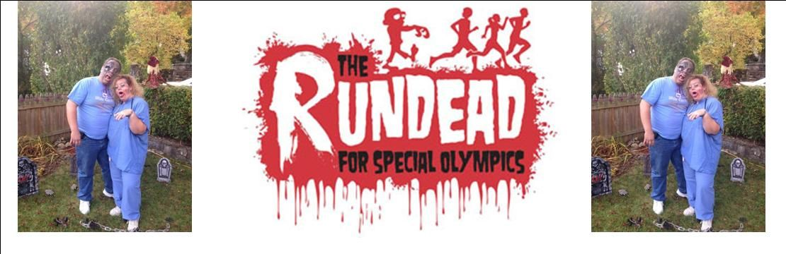 The rUNDEAD for Special Olympics & Our family will be Zombies!! Check it out!