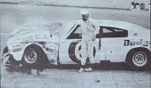Charging Charlie Glotzbach drove in 124 NASCAR races and, remarkably, finished in the top 10 in 50 of them. His record includes 12 pole positions and four victories. Eight times he placed second, and he also had five thirds, 18 fourths and three fifths. That's 38 finishes in the top five.