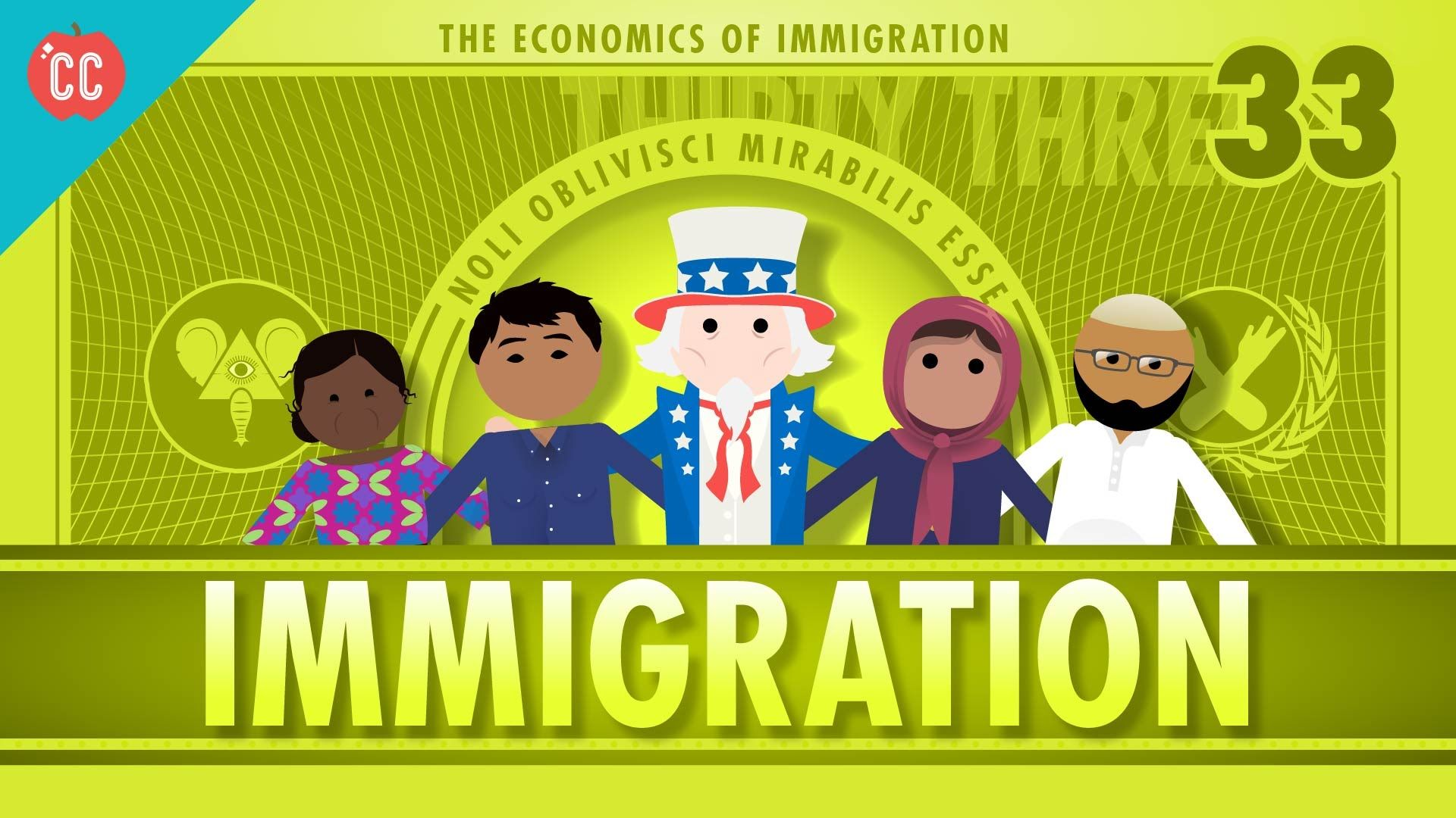 The Economics Of Immigration Crash Course Econ 33