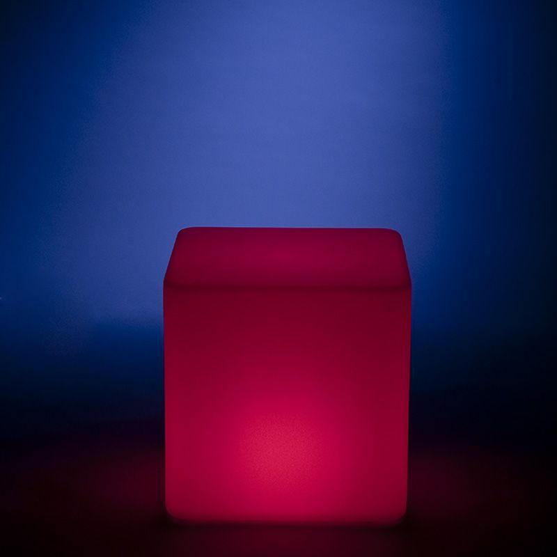 Kvad Gallery Cube Side Table Glow In The Dark Side Table