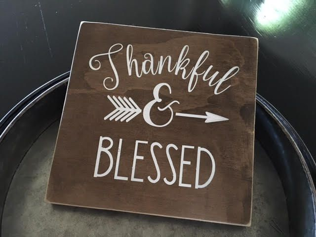 Good Thankful U0026 Blessed, Handmade Sign, Home Decor, Rustic Decor, Kitchen Sign,