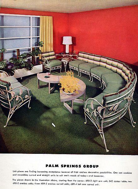 Salterini Patio Furniture Parts: Salterini - Palm Springs