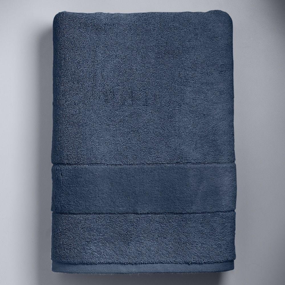 Simply Vera Vera Wang Turkish Cotton Bath Towel Dark Blue