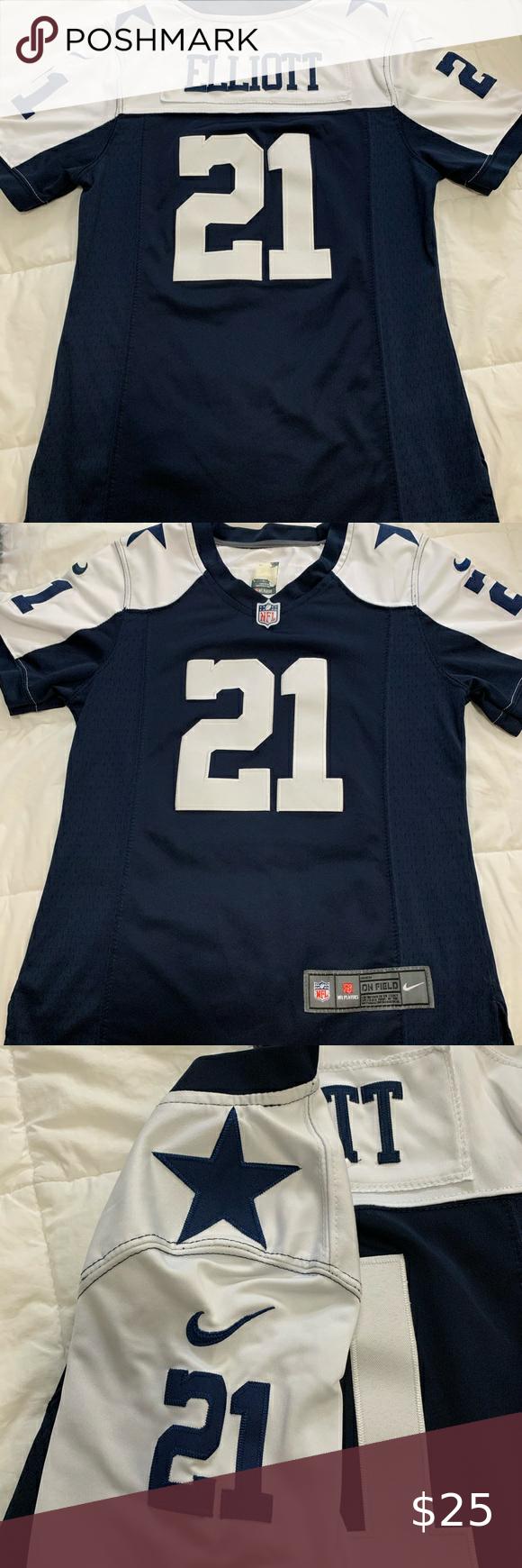 Ezekiel Elliot women's jersey in 2020 Womens jersey