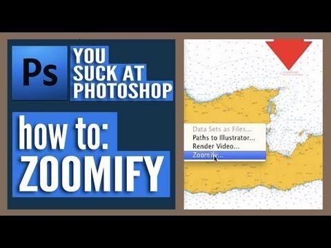 You suck at photoshop tutorials