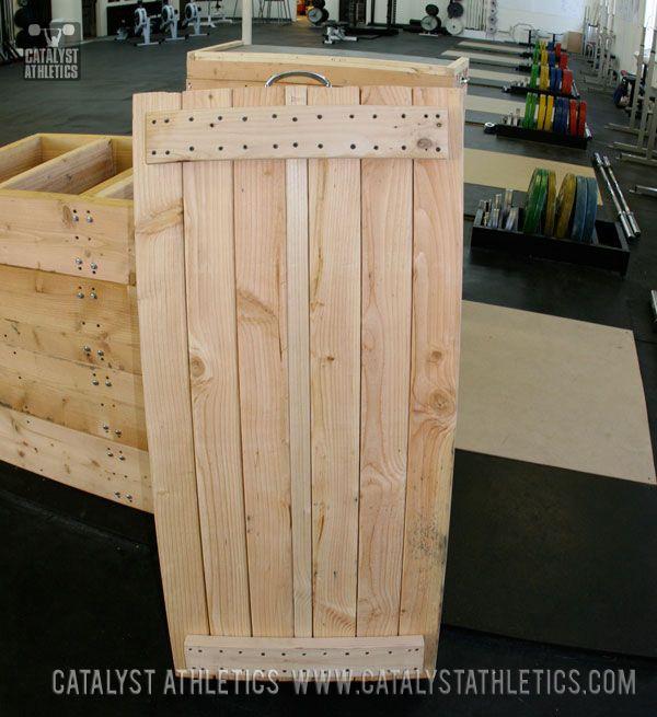 Jerk block building tutorial garage gym diy gym equipment