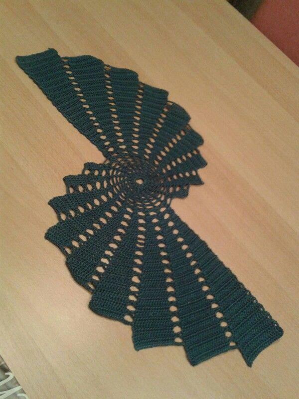 Spiraldeckchen Häkeln Crochet Crochet Patterns Und Pattern