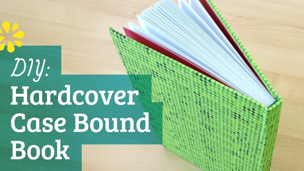 Learn how to make your own, personalized bound book. Great