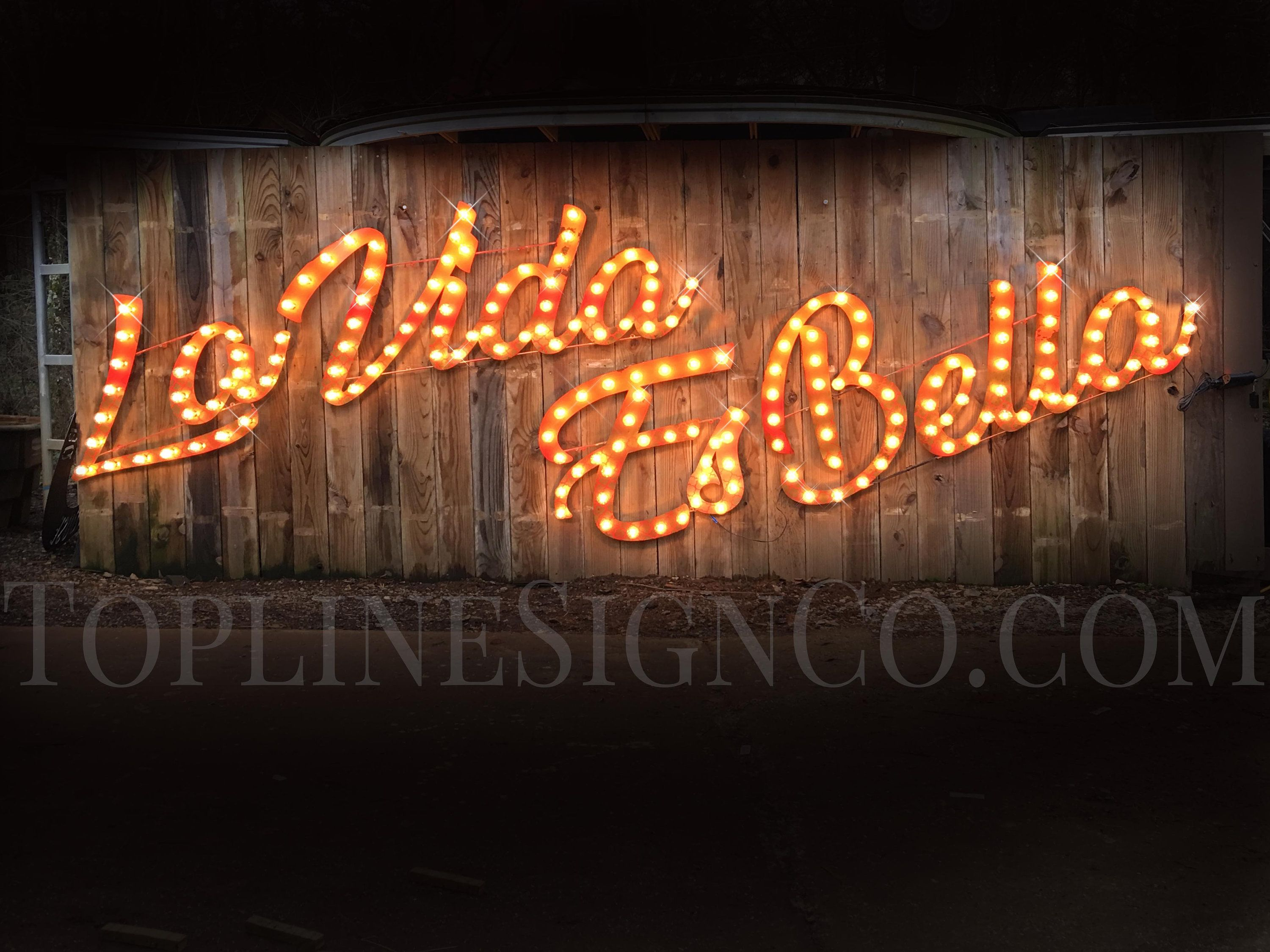 Custom Signs Marquee Signs Custom Signs Vintage Marquee Letters Business Sign Venue Sign Marquee Lighted Letters Vintage Style Signs In 2020 Vintage Marquee Letters Marquee Sign Lighted Marquee Letters