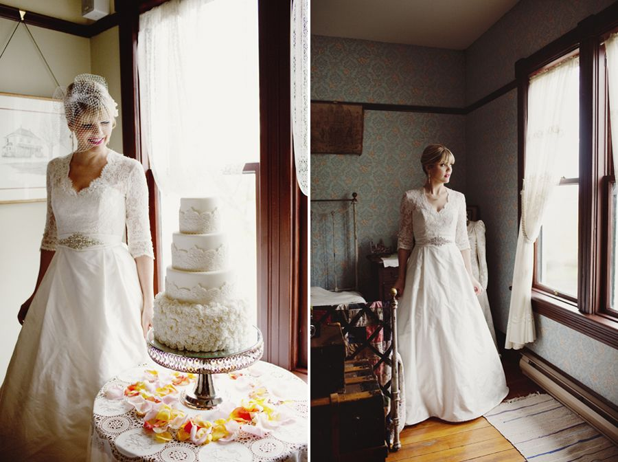 Vintage Styled Wedding Shoot At London Heritage Farms