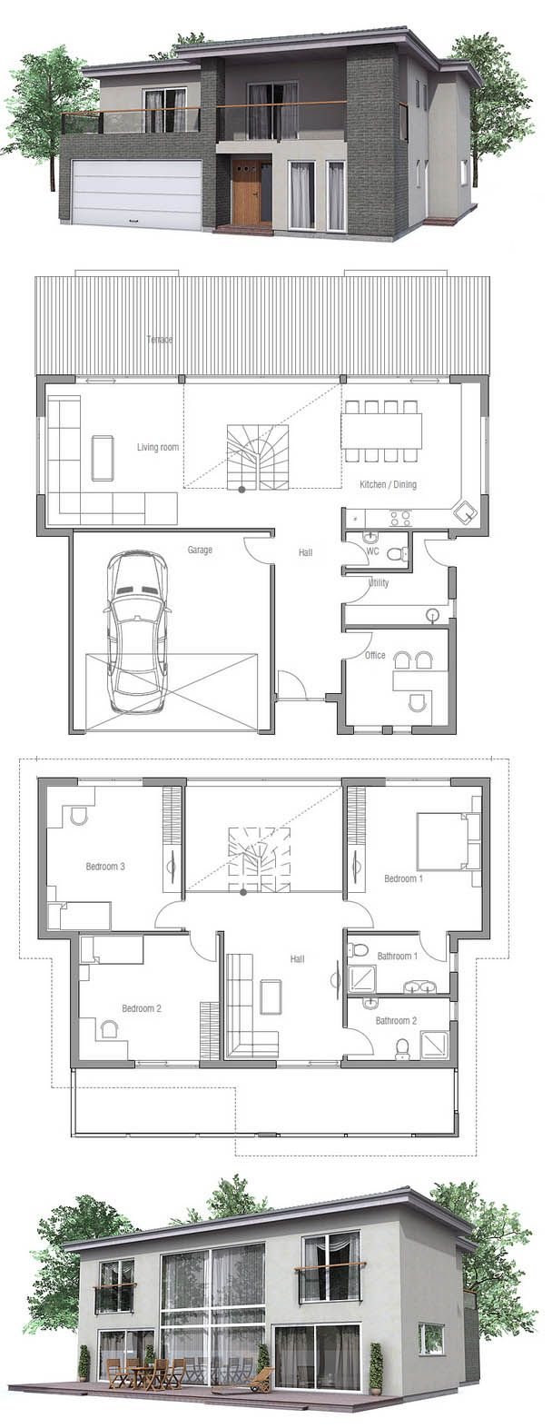 kleine haus haus haus architektur haus pl ne und haus. Black Bedroom Furniture Sets. Home Design Ideas