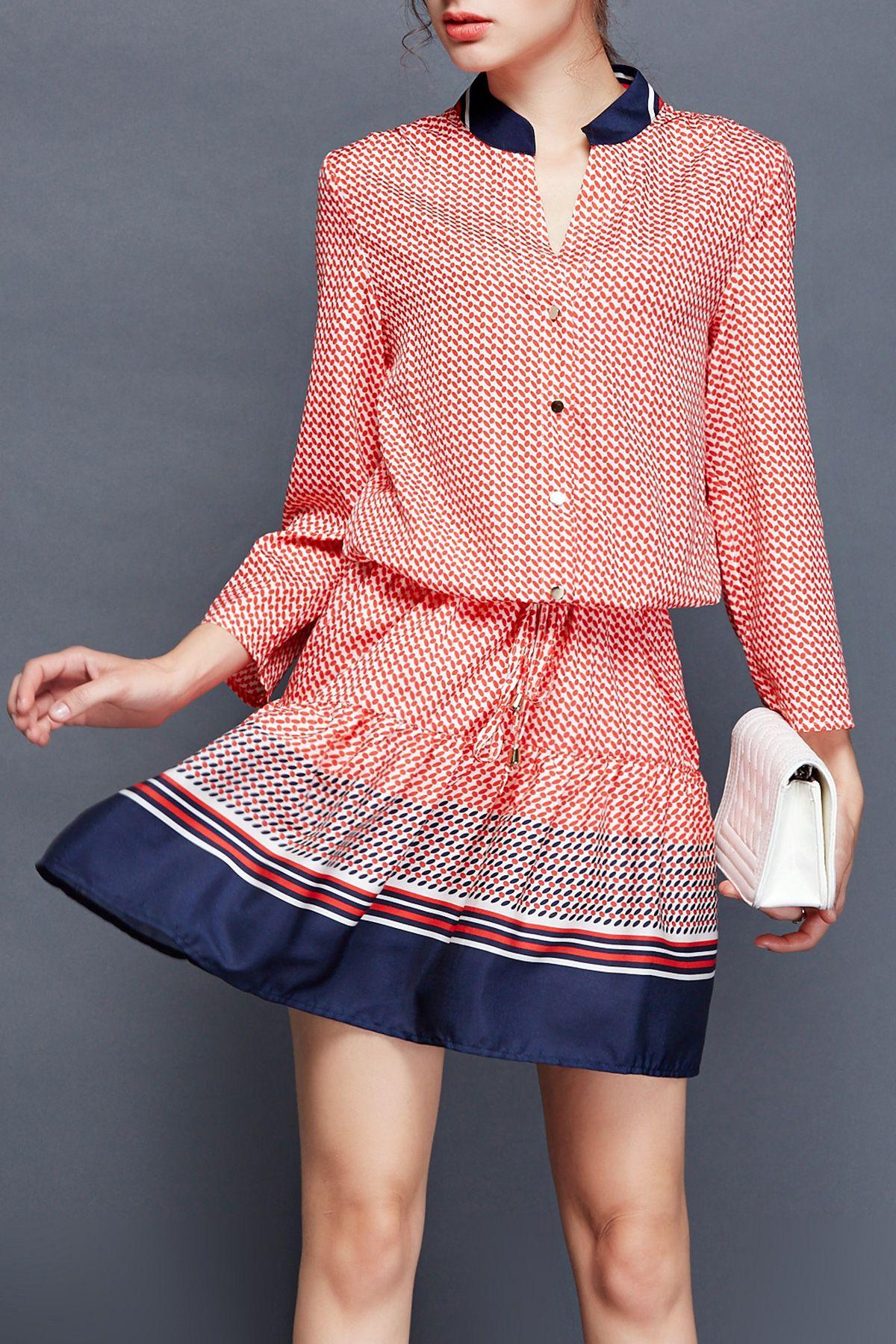 printed shirt dress | Mi estilo | Pinterest | Vestido de verano ...