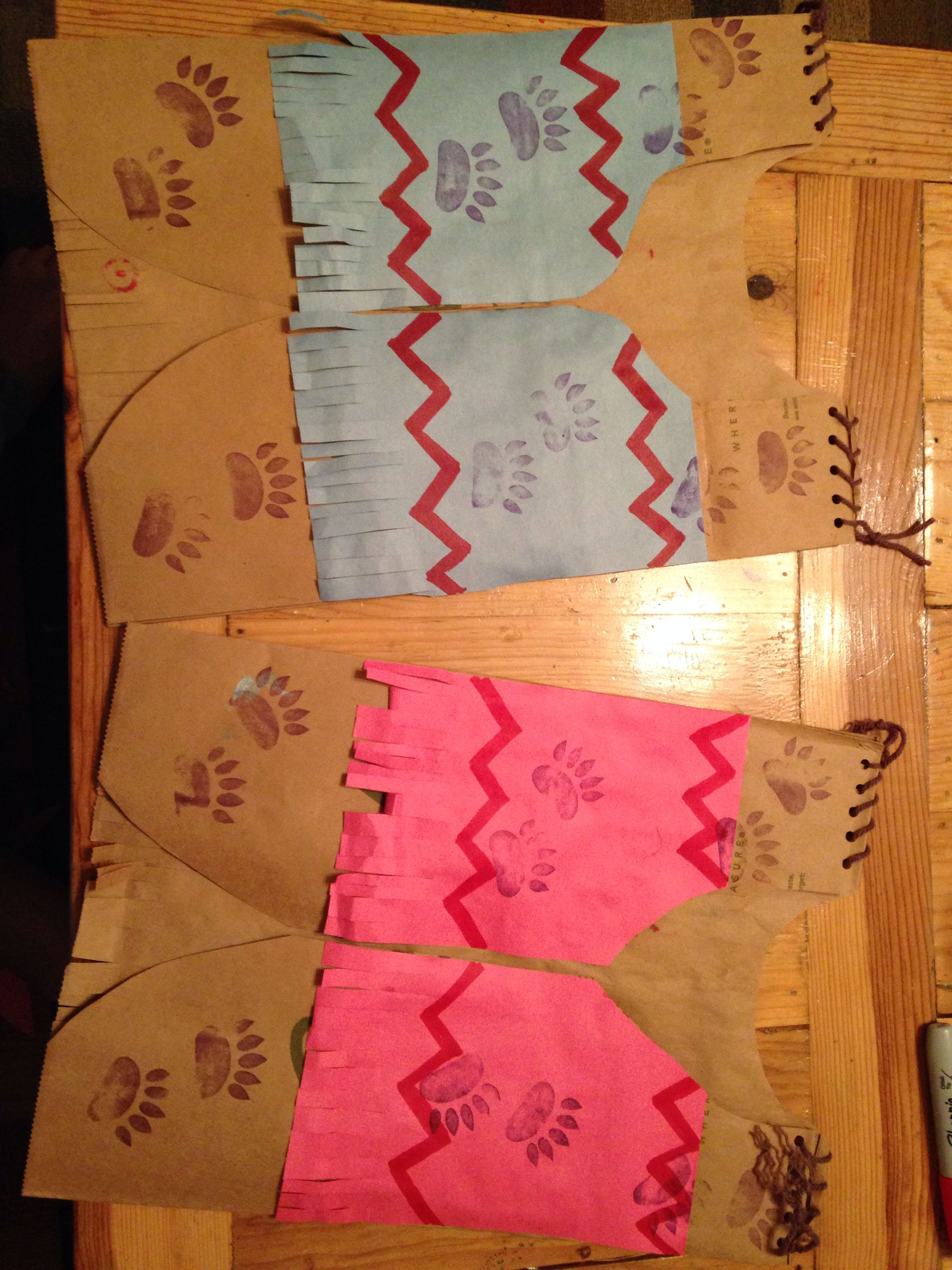 crafts ideas for kids paper bag american vests for feast day the 4142