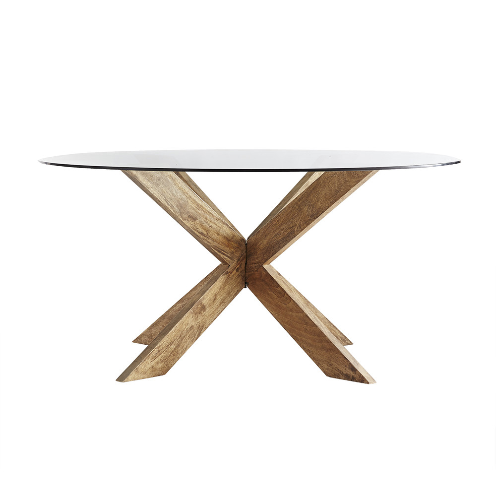 Modern X Base Dining Table Dining Table Round Dining Table Unique Dining Tables
