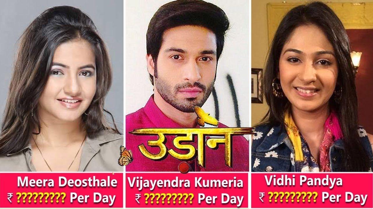 """Udaan"""" Actors Salary Meera Deosthale, Vijayendra Kumeria"""