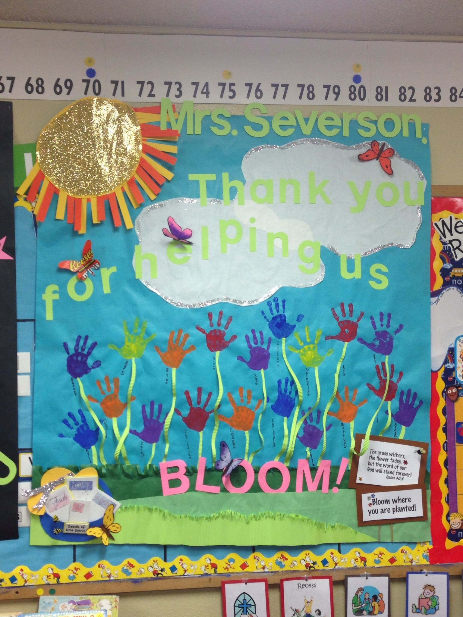 Classroom Design For Recognition ~ Teacher appreciation poster teachers pinterest