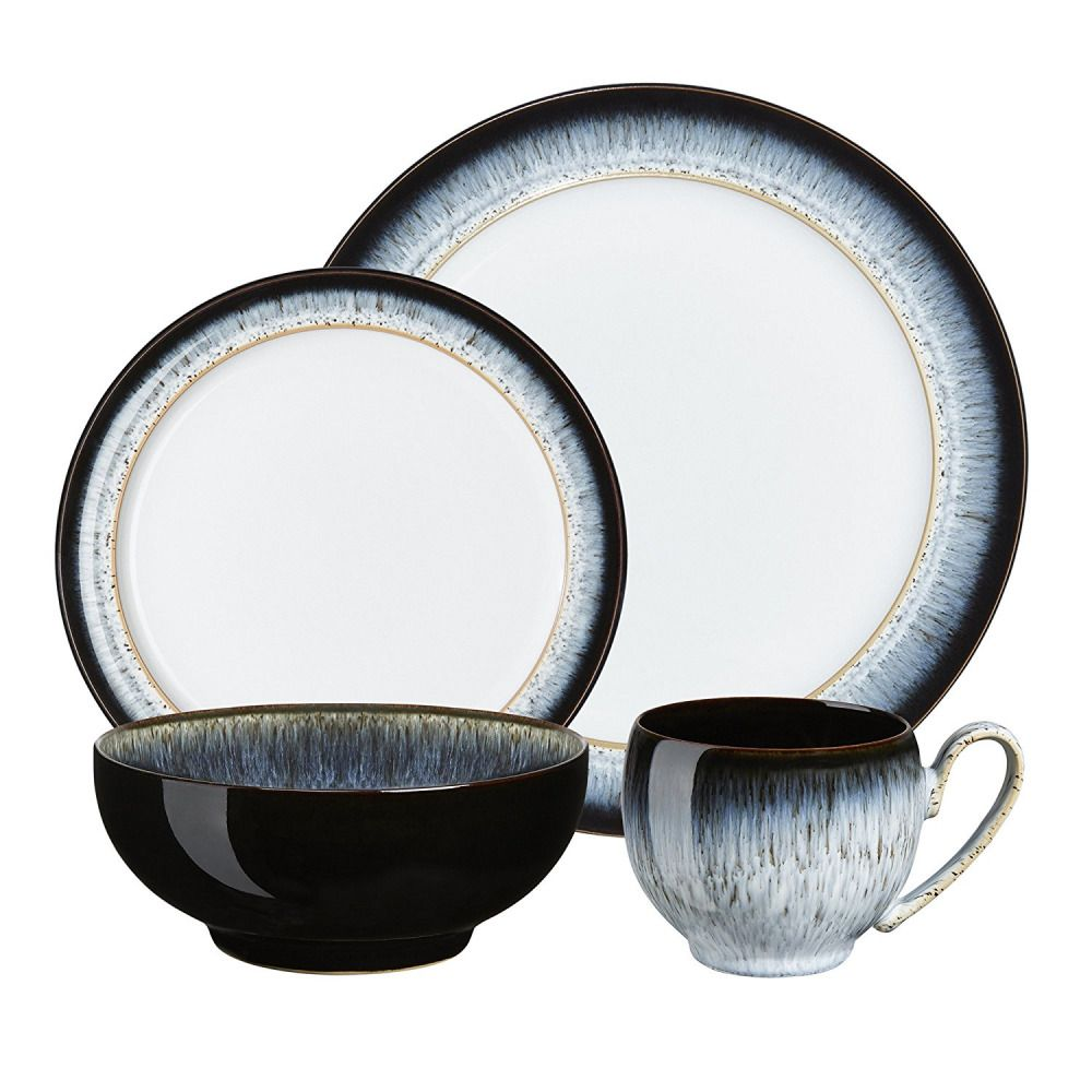 Denby Halo 16 Piece Dinner Set Gift Boxed Rrp 192 Ebay Tableware Set Tableware Dinner Sets