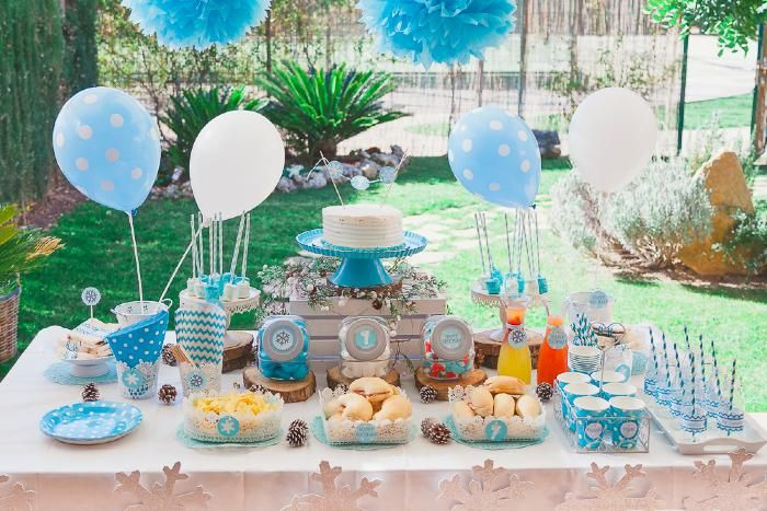 Fiesta de frozen frozen party frozen pinterest for Ideas para cumpleanos en piscina