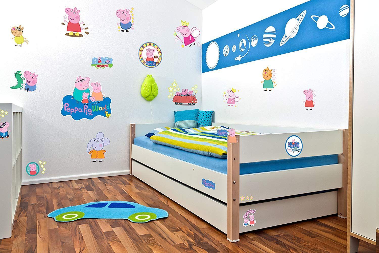 Der Spielzeugtester hat das Peppa Pig Wanddeko Wandtattoo