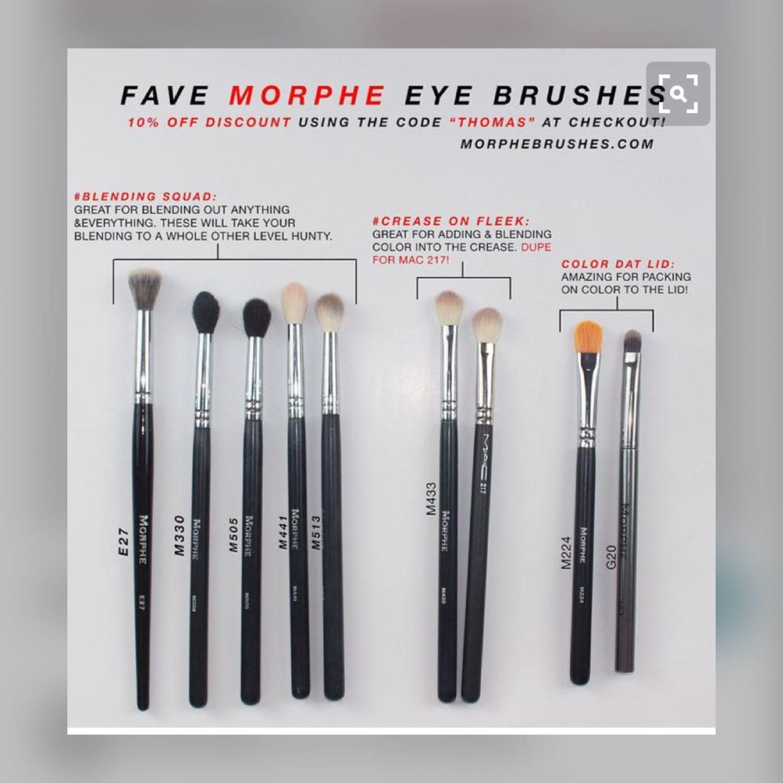 Morphe Brushes For The Eyes Morphe Eye Brushes Beauty Makeup Makeup Obsession Morphe brush collection eye stunners set of 6 branded bag 100 genuine. pinterest