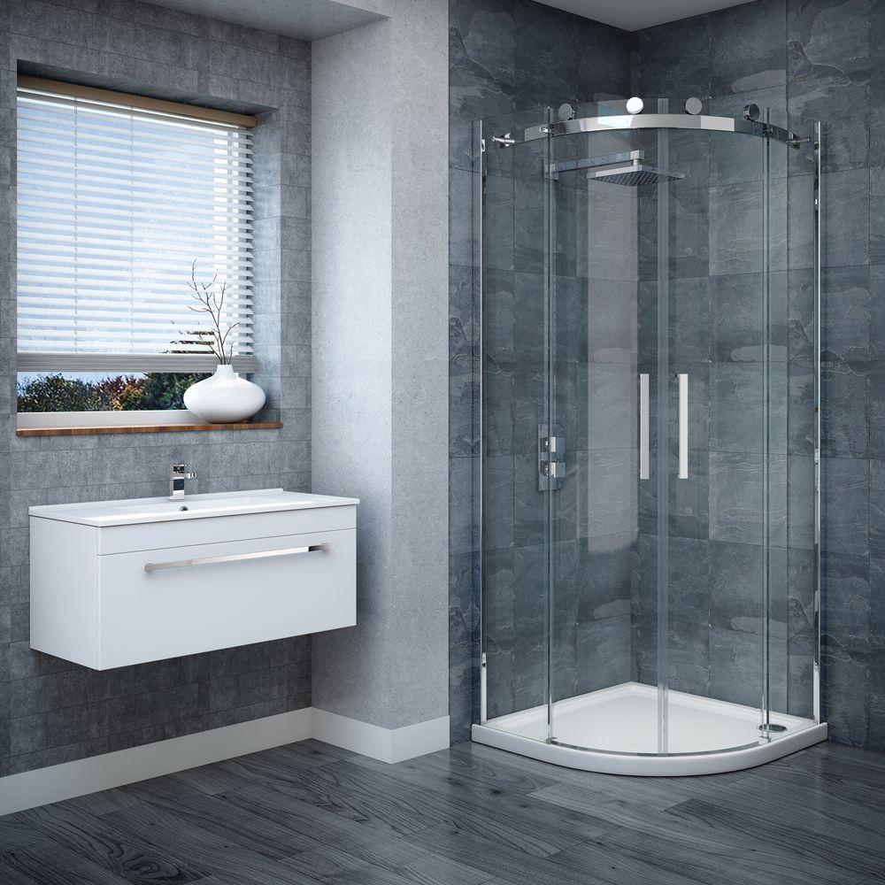 Nova Frameless Quadrant Shower Enclosure | LOFT SHOWER | Pinterest ...
