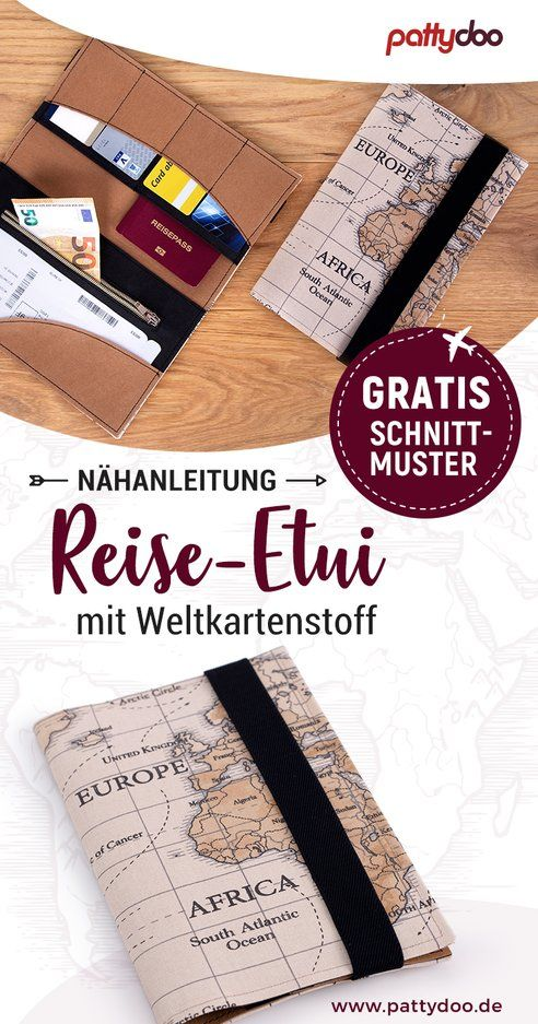 Photo of Nähanleitung Reisetasche mit Stoff und Gummiband