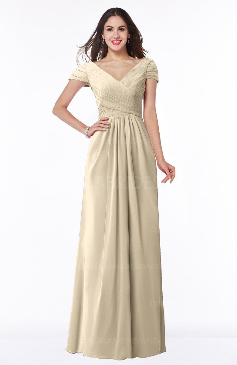 Colsbm evie champagne bridesmaid dresses in dressing