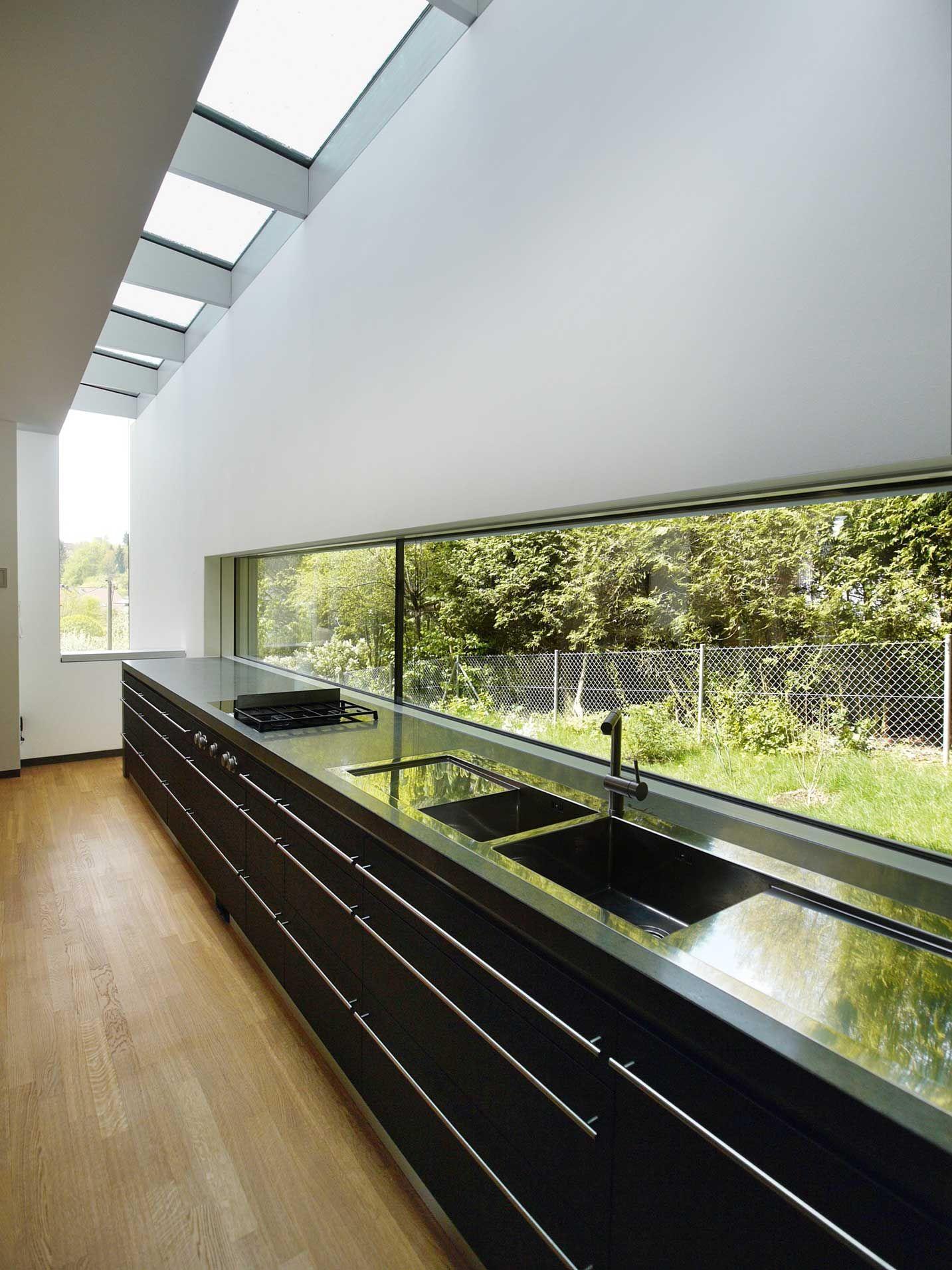 Kleiner grundriss am hang haus for Modernes einfamilienhaus grundriss