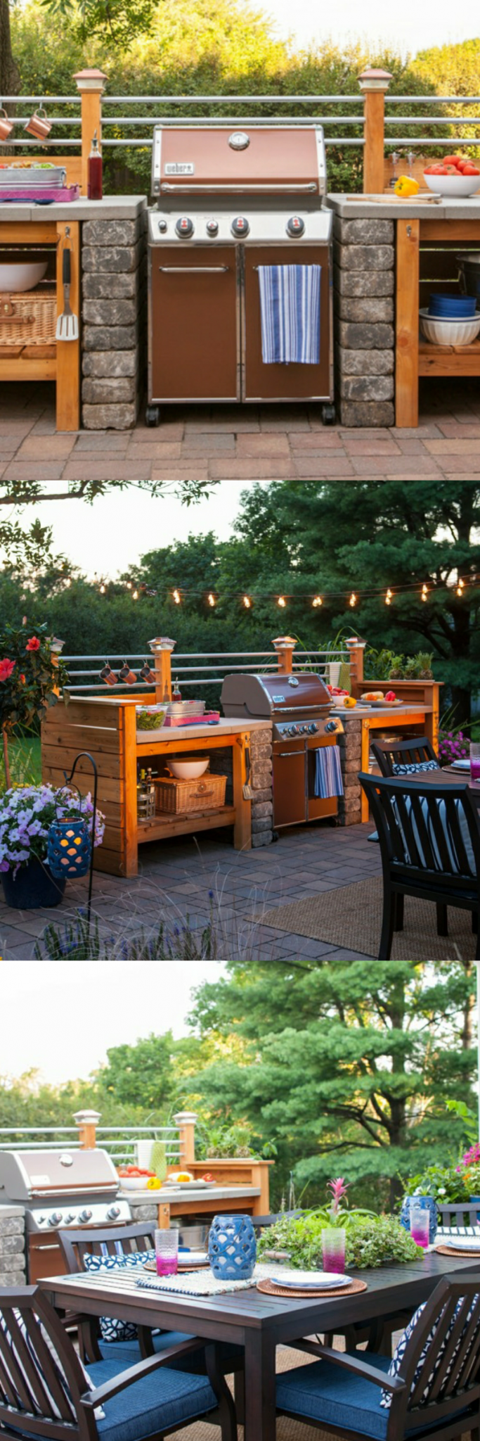 outdoor kitchen ideas on a budget affordable small and diy outdoor kitchen ideas afford on outdoor kitchen easy id=15807