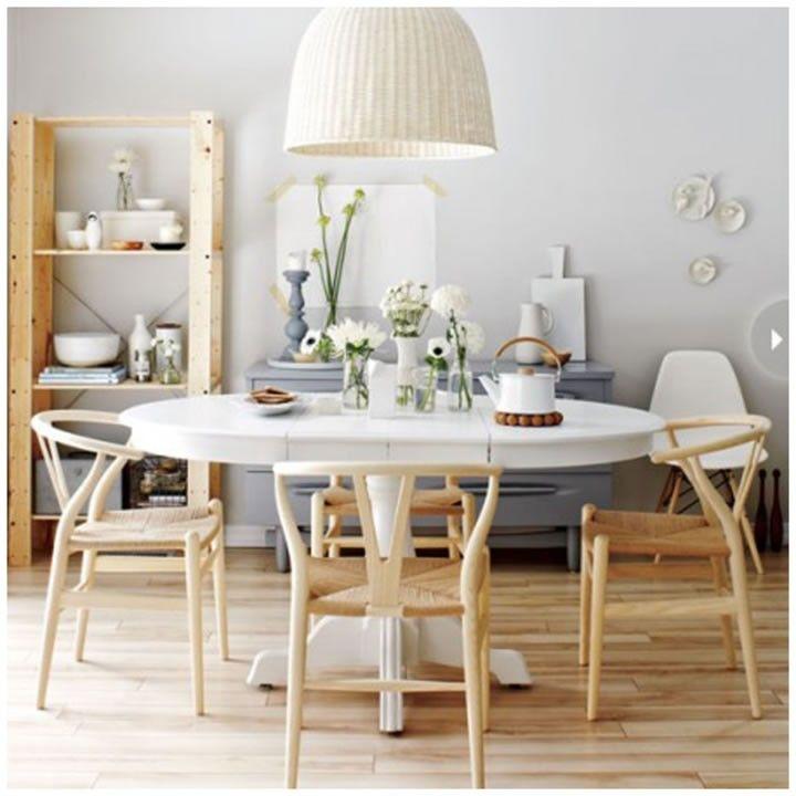 Ideas de lamparas tejidas por mariangel coghlan06 espacios interiorismo residencial - Mesa ovalada ikea ...
